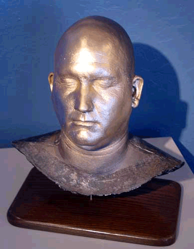 Aaron's head cast
